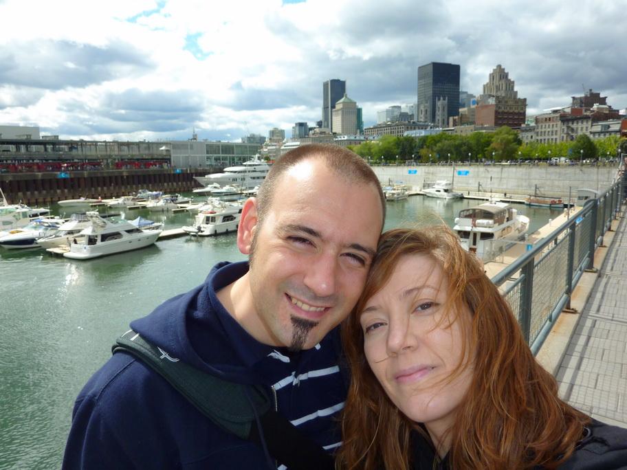 David & Sara vieux port de Montréal